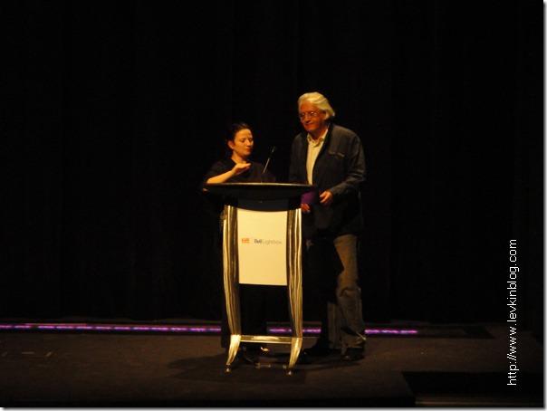 Патрисио Гузман (Patricio Guzmán) на кинофестивале в Торонто 2010 года