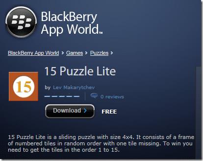 15 Puzzle Lite