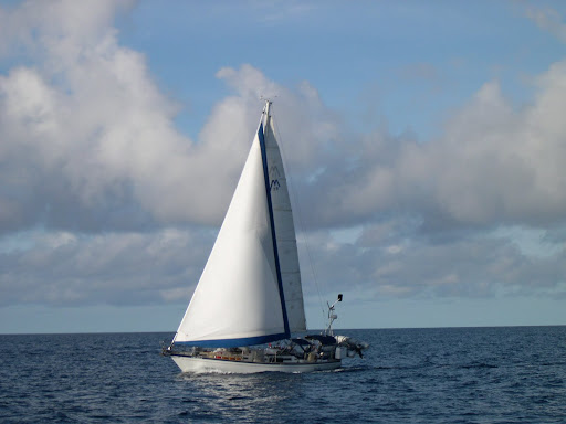 Excellent cruising boat. Here's my buddy's. We sailed together for about six ...