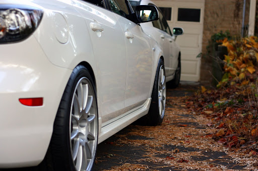 Evo X GSR wheels (Enkei)