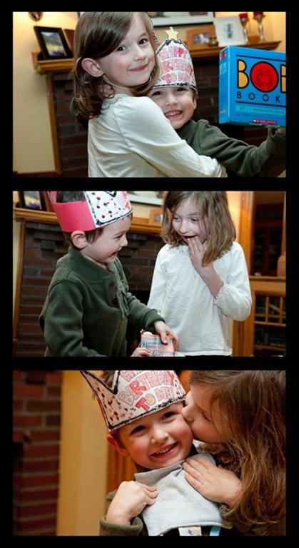 charlie birthday with Hazel