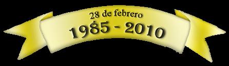 Bandelora XXV Aniversario
