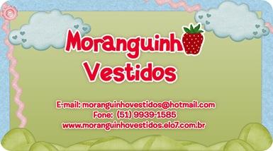 cartão visita - Moranguinho Vestidos