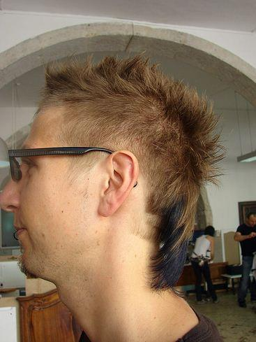 mens haircut short with texture image