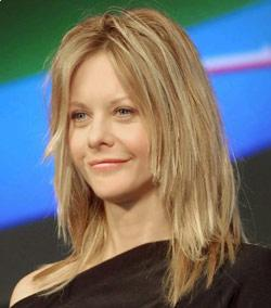 Meg Ryan Choppy hairstyle