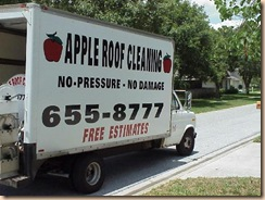 Tampa Roof Cleaning Truck 2