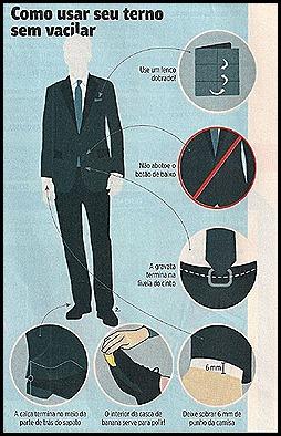 Como usar seu terno