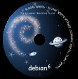 Linux debian 6 squeeze cd logo desenho novo download - witian blog