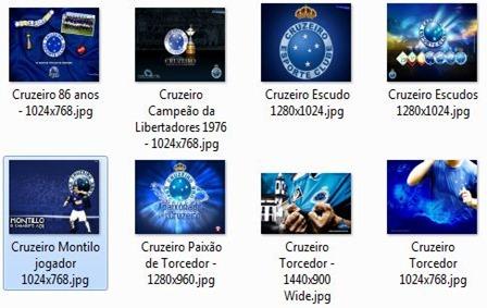 Download de vários Wallpapers (papel de parede - fundo de tela) do Cruzeiro esporte clube de Minas gerais - futebol baixar