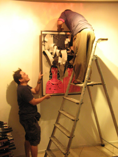 Mang Albert mounting Kuya Roberts work