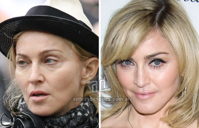 Madonna without makeup