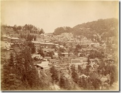 Simla in the 1890s albumen photos from an album belonging to a British officer, John Mitchell Holms1