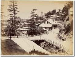 Simla in the 1890's albumen photos from an album belonging to a British officer, John Mitchell Holms2
