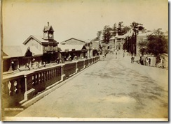 The Mall, Simla, 1890's