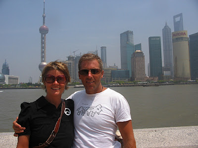 Kristina og Thomas på the Bond, Shanghai 2009