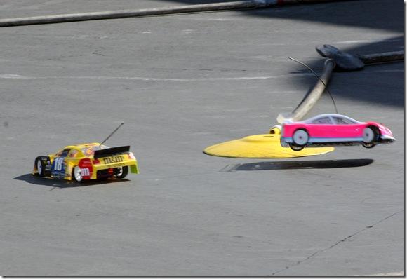 2009 Las Vegas NSCS Winners Circle Kyle Busch HobbyTown RC car