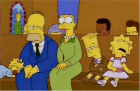 simpsons-in-church-sleeping