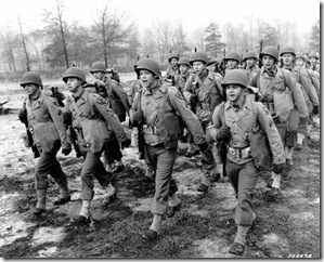 World War II soldiers training