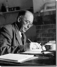 C.S. Lewis writing