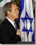 geo-bush-Israeli-flag
