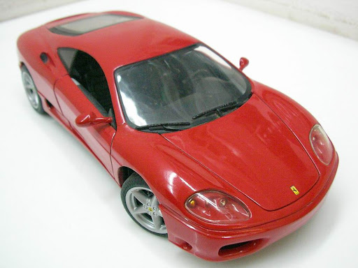 1:18 Hot Wheels Ferrari 360 Modena Red. 1:18 Hot Wheels Ferrari 360 Modena