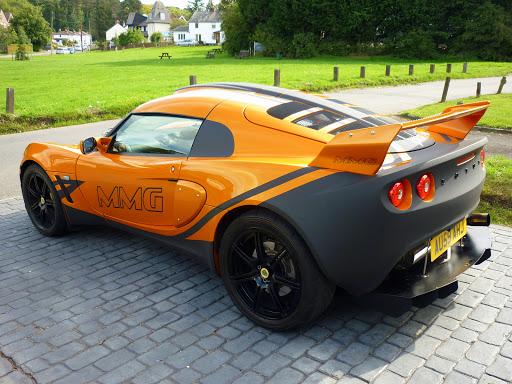 Burnt Orange 2010 Exige with