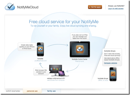 iPad-NotifyMeCloud