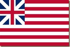 American flag circa 1776