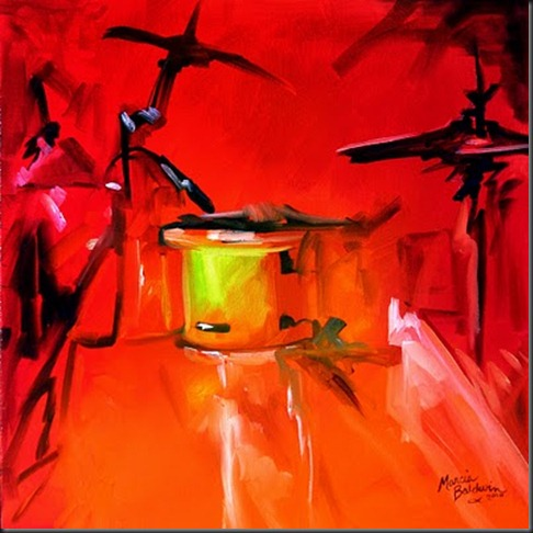 E-MUSIC-in-RED-DRUM-ABSTRAC