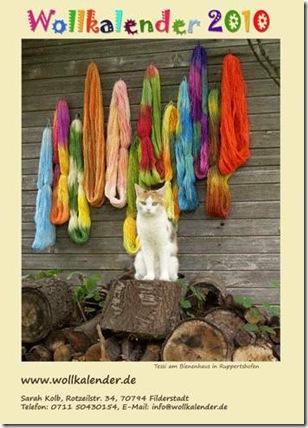 Wollkalender 2010 Titel