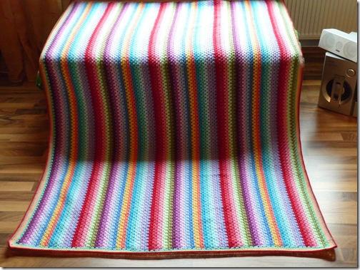 Granny Stripe Blanket (2)