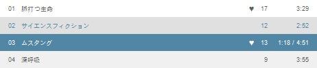 foobar2000のELPlaylistにLast.fmの曲情報を表示