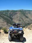 Overlooking Huntington Canyon