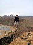 Chris on top of the San Rafael Reef