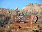 Capitol Reef National Park boundary