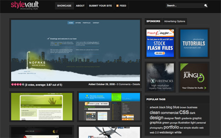 CSS Design Showcase Websites 19