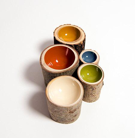Eco-Friendly Log Bowls by Doha Chebib 3