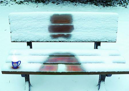 Erasco Bench Advertisement