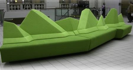 Mountain Range Sofa