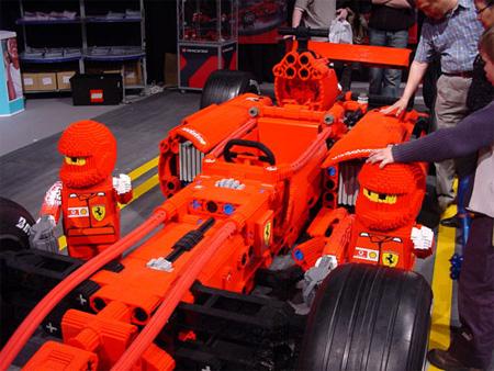 LEGO Ferrari Formula 1 Car 3