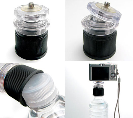 Bottle Cap Tripod for Better Photography 4