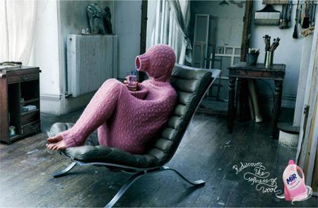 Henkel Mir Wool Advertisements