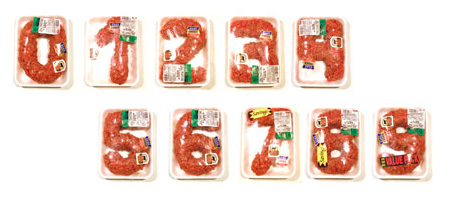 Meat Alphabet by Robert J. Bolesta 5