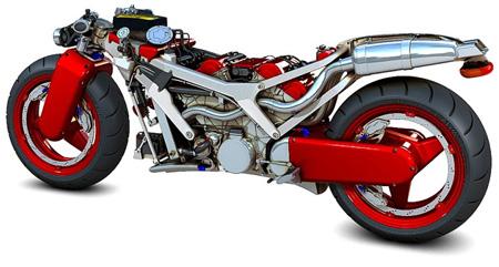Ferrari V4 Concept Motorcycle 4
