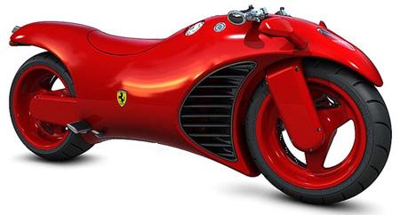 Ferrari V4 Concept Motorcycle