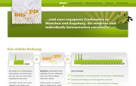 Green CSS Website Designs 12