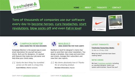 Green CSS Designs 15