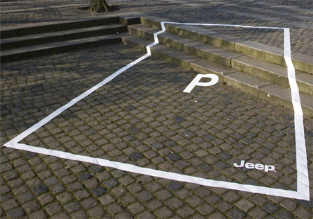 Jeep Parking Space Ads 2