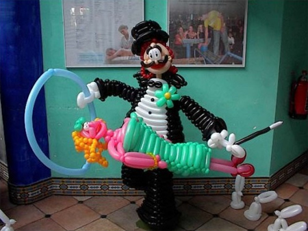 Creative Balloon Art 4