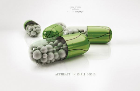 Creative Sony PSP Print Ads